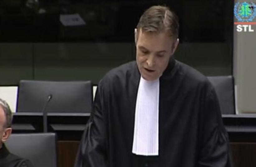 STL prosecutor making his opening statement (photo credit: screenshot)