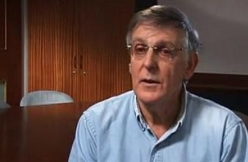 Professor Daniel Shechtman (photo credit: screenshot)