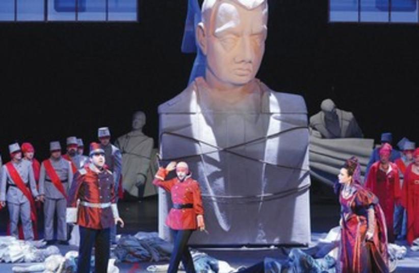 Israel Opera production of Verdi's 'A Masked Ball.'  (photo credit: YOSSI ZWECKER)