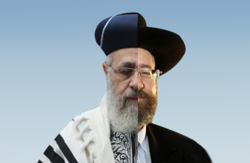 Minsters approve bill to have one chief Rabbi (photo credit: MARC ISRAEL SELLEM/THE JERUSALEM POST)