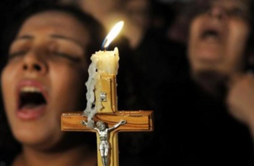Coptic Christians. (photo credit: REUTERS)