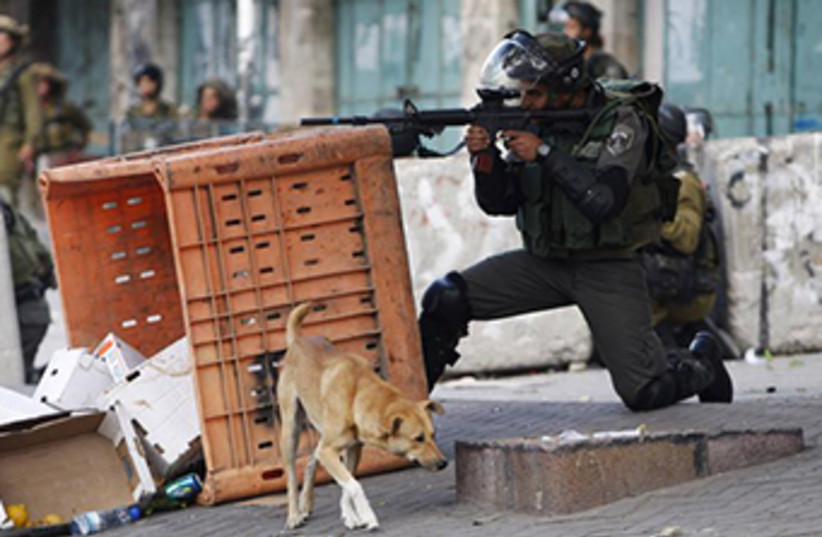Border Policemen (photo credit: REUTERS)