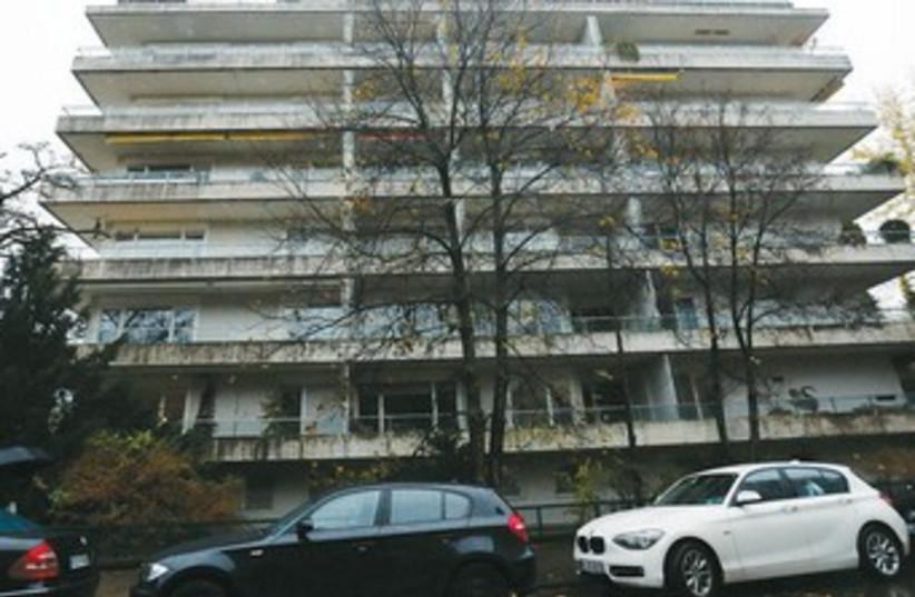 A GENERAL view of Cornelius Gurlitt's apartment building in Munich. (photo credit: MICHAEL DALDER/REUTERS)