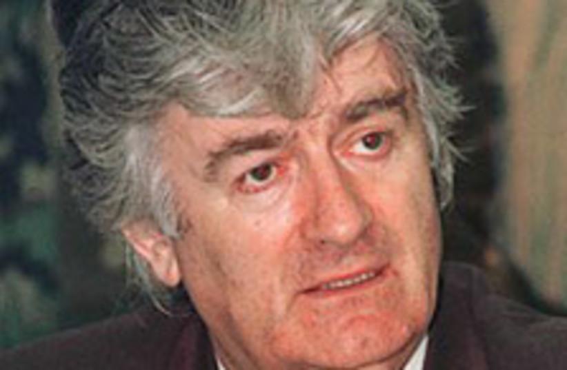 Karadzic (photo credit: AP)