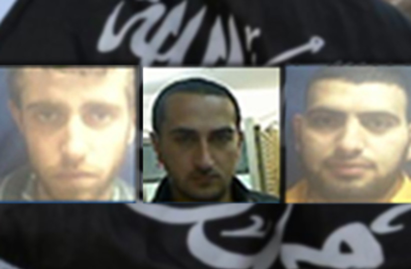Suspects in al-Qaida plot, Jan 22 2014 (photo credit: REUTERS,Courtesy Shin Bet)