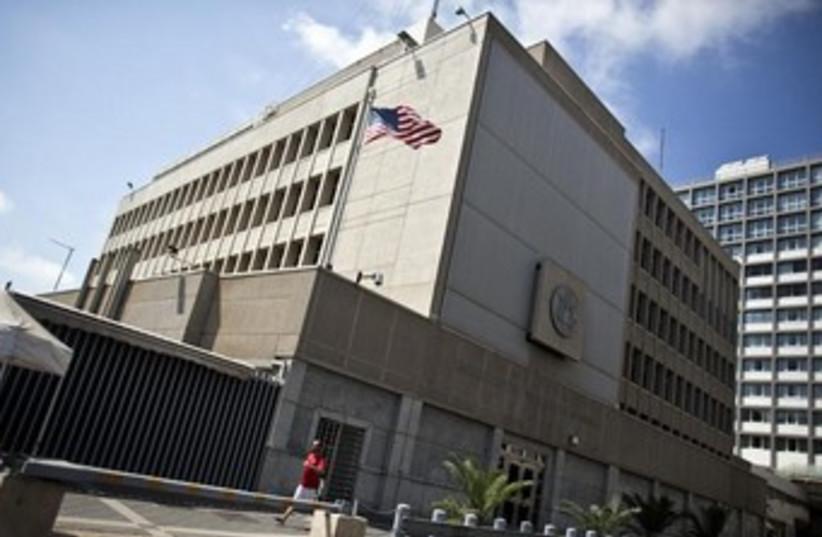 US Embassy in Tel Aviv. (photo credit: REUTERS)