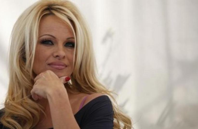 Actress and activist Pamela Anderson. (photo credit: REUTERS)