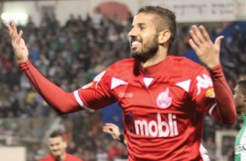 Beersheba striker Dovev Gabai  (photo credit: MEIR EVEN HAIM)
