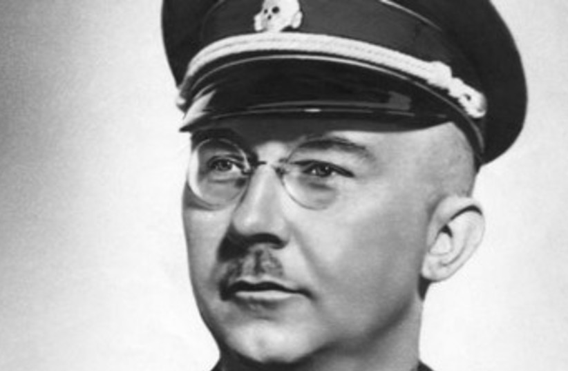 Heinrich Himmler (photo credit: Wikimedia Commons)