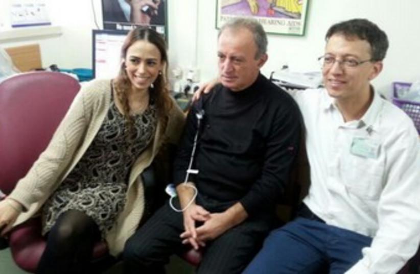 Avishai Alshvili and family. (photo credit: COURTESY KAPLAN MEDICAL CENTER)
