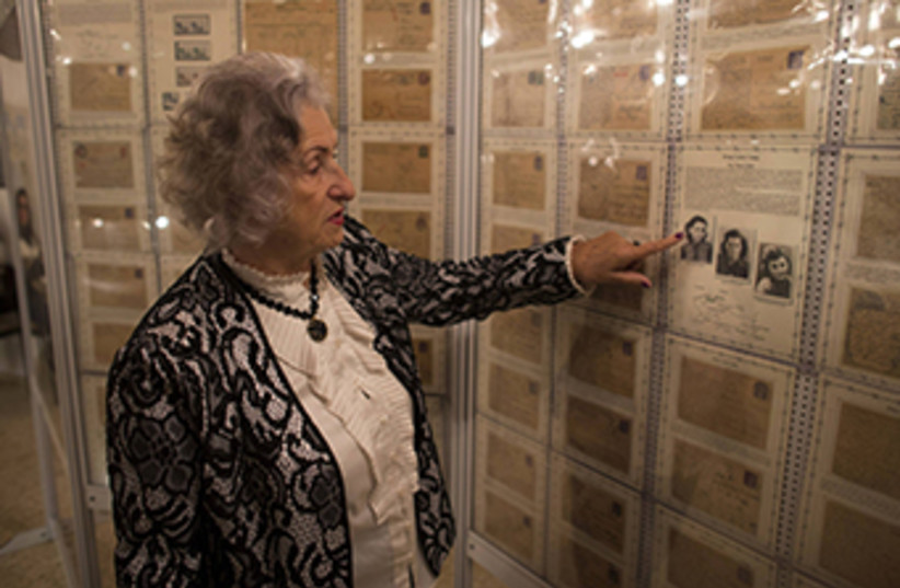 Holocaust museum in Ariel (photo credit: REUTERS)