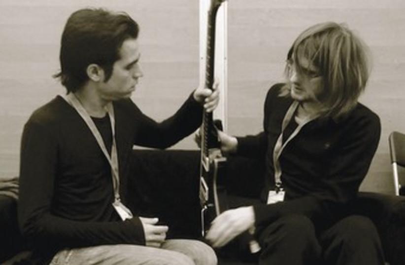 Aviv Geffen (left) and Steven Wilson of Blackfield. (photo credit: Courtesy)