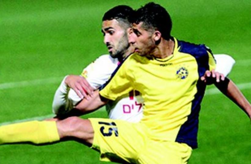 Maccabi Tel Aviv's Dor Micha (photo credit: ADI AVISHAI)