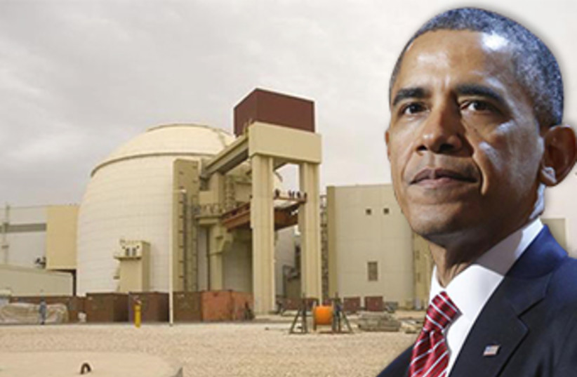 Most Americans think Obama not doing enough to stop Iran (photo credit: REUTERS)