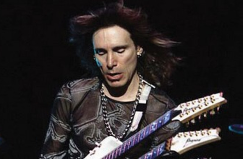 Steve Vai (photo credit: Courtesy)