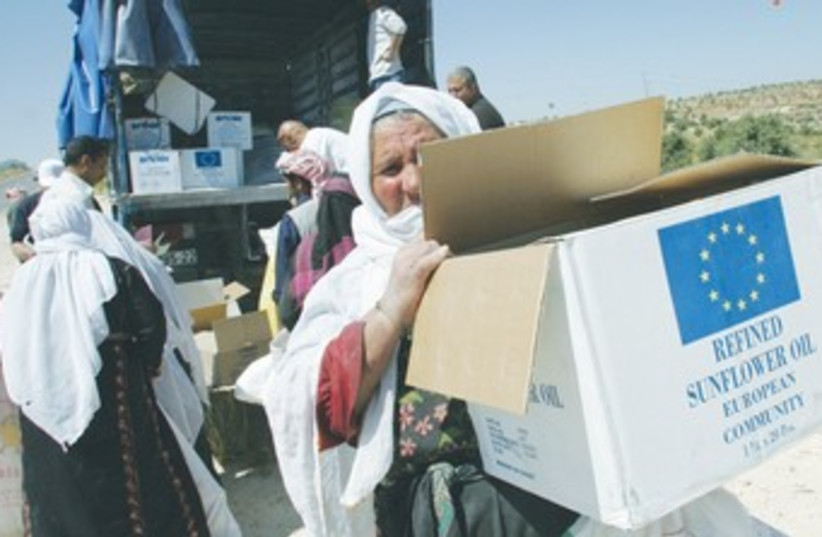 UNRWA (photo credit: REUTERS)