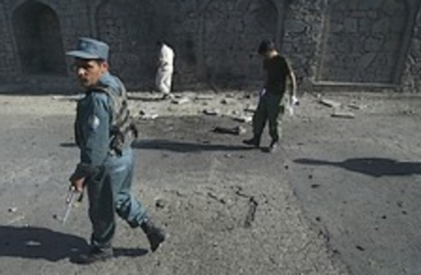 afghan police 224.88 (photo credit: AP)