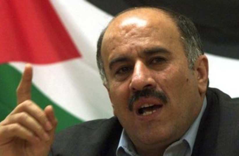 Fatah official Jibril Rajoub. (photo credit: REUTERS)