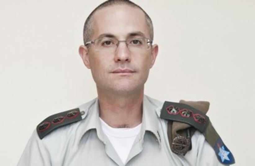 IDF Col. Sharon Afek (photo credit: COURTESY IDF SPOKESMAN'S OFFICE)