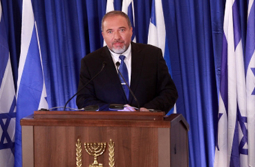 Foreign Minister Avigdor Liberman (photo credit: MARC ISRAEL SELLEM/THE JERUSALEM POST)