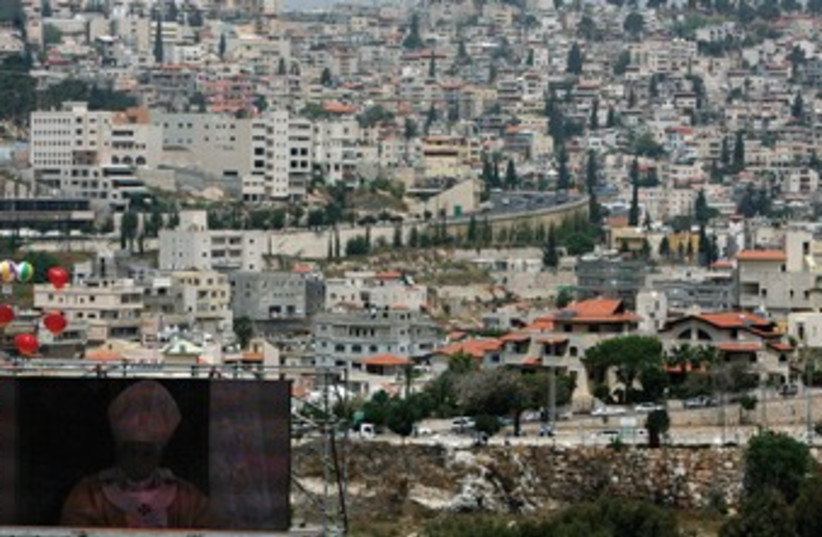 A view of the city of Nazareth (photo credit: REUTERS)