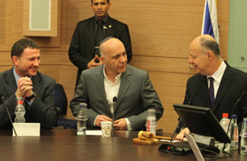 Shin Bet chief Yoram Cohen (photo credit: Lahav Harkov)