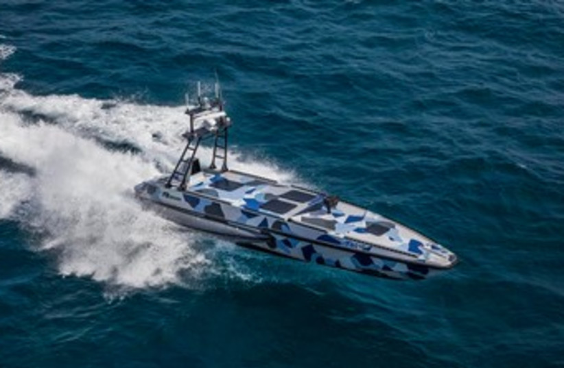 IAI Unmanned Surface Vessel (photo credit: Courtesy)