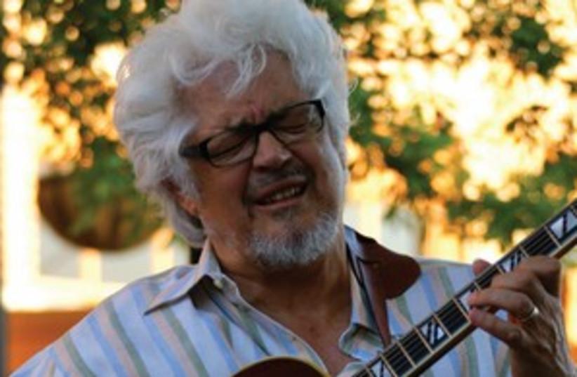 AMERICAN JAZZ guitarist Larry Coryell (photo credit: JOHN PIERCE)