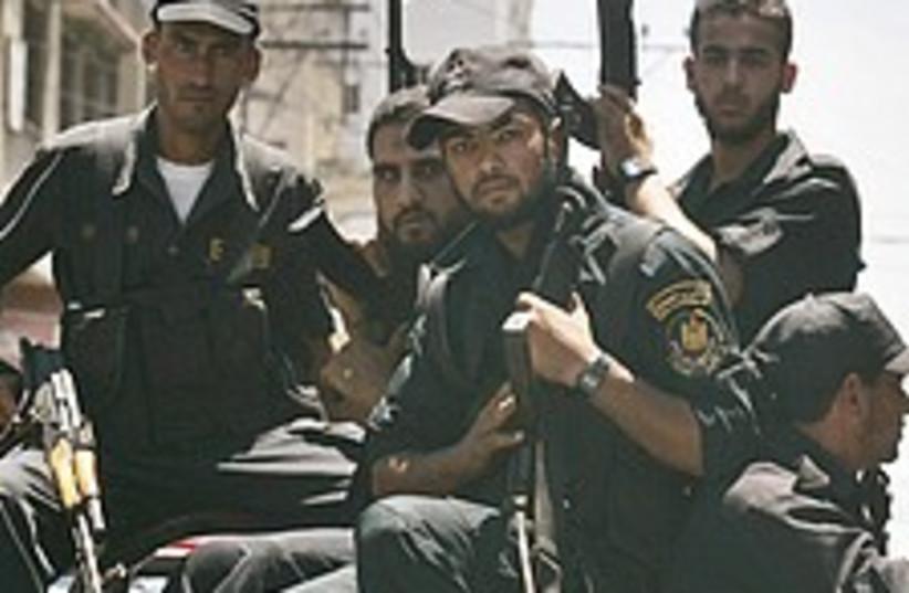 Hamas dont fucking mess (photo credit: AP)
