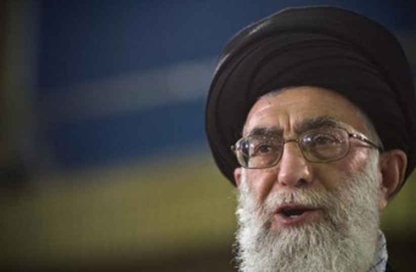 Iranian Supreme Leader Ayatollah Ali Khamenei. (photo credit: REUTERS)