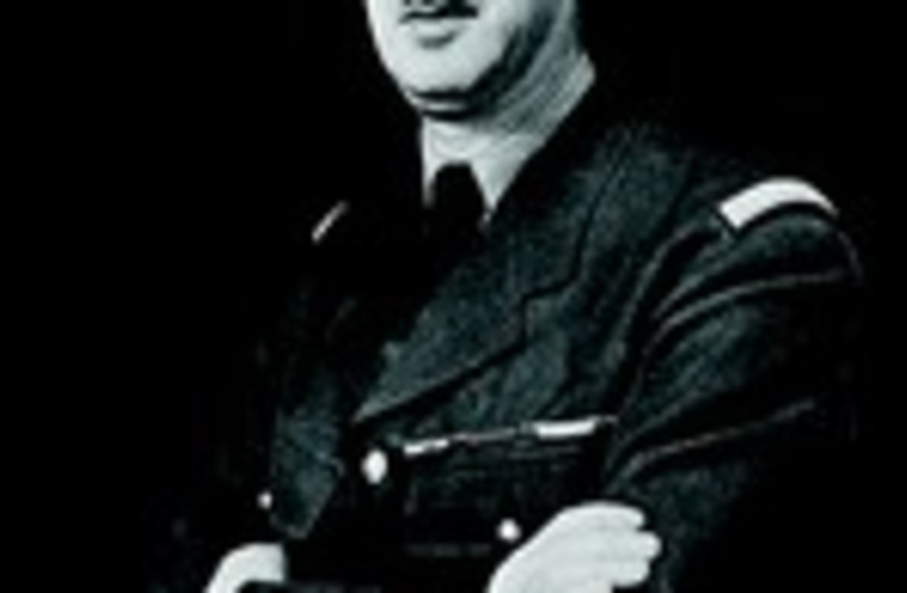 Charles de Gaulle (photo credit: Wikimedia Commons)