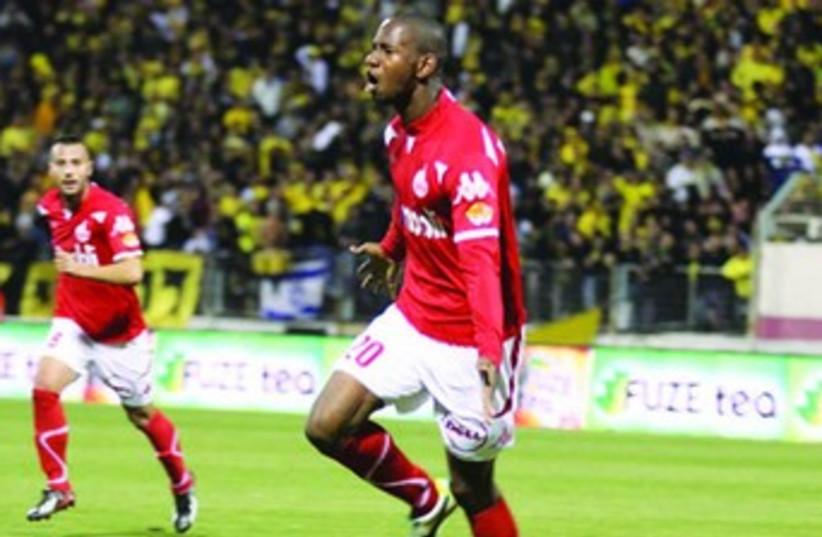 Hapoel Beersheba striker Glynor Plet. (photo credit: MEIR EVEN HAIM)