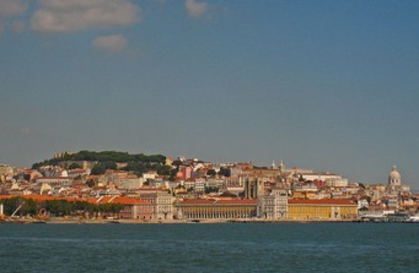 View of Lisbon, Portugal. (photo credit: Wikimedia Commons)
