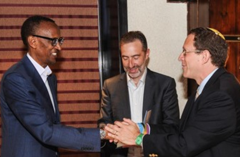 Rwandan President Paul Kagame (photo credit: GIGAWATT GLOBAL)