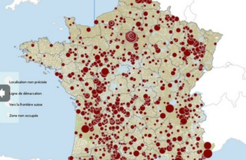 Interactive map (photo credit: screenshot)
