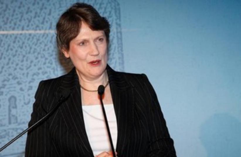 UNDP head Helen Clark. (photo credit: REUTERS)