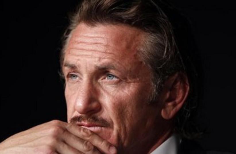 Sean Penn (photo credit: REUTERS)