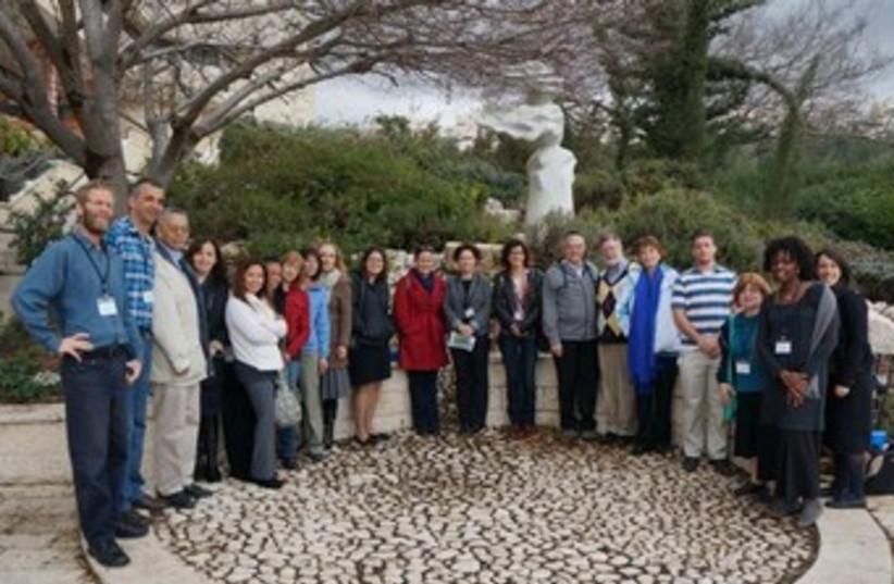 STEM deligation in Israel (photo credit: Courtesy)