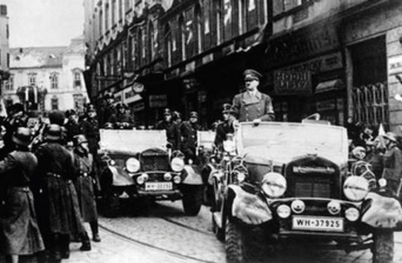 Hitler in Prague (photo credit: JERUSALEM POST)