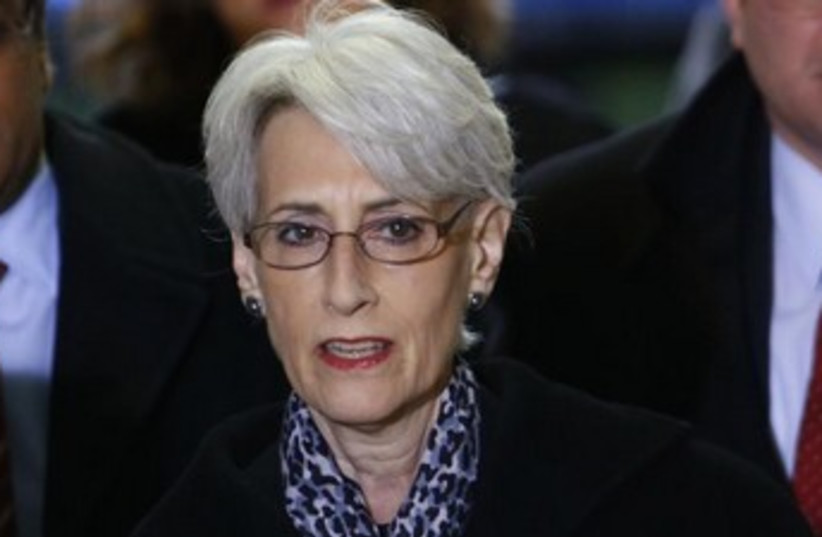 US Under Secretary of State for Political Affairs Wendy Sherman. (photo credit: REUTERS)