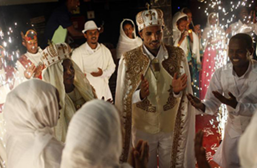 Eritrean wedding‏ (photo credit: REUTERS)