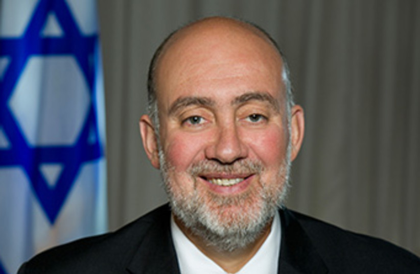 Ron Prosor (photo credit: COURTESY ISRAELI EMBASSY TO US‏)