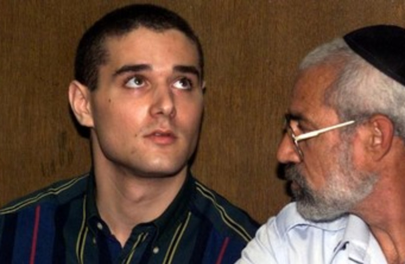 Samuel Sheinbein pleads guilty in Tel Aviv court, September 2, 1999 (photo credit: REUTERS)
