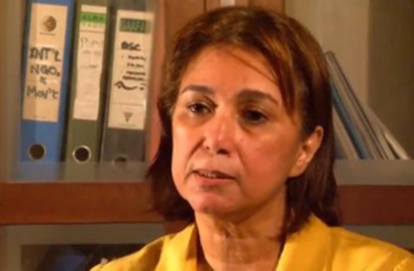 Hala Shukrallah (photo credit: YOUTUBE SCREENSHOT)