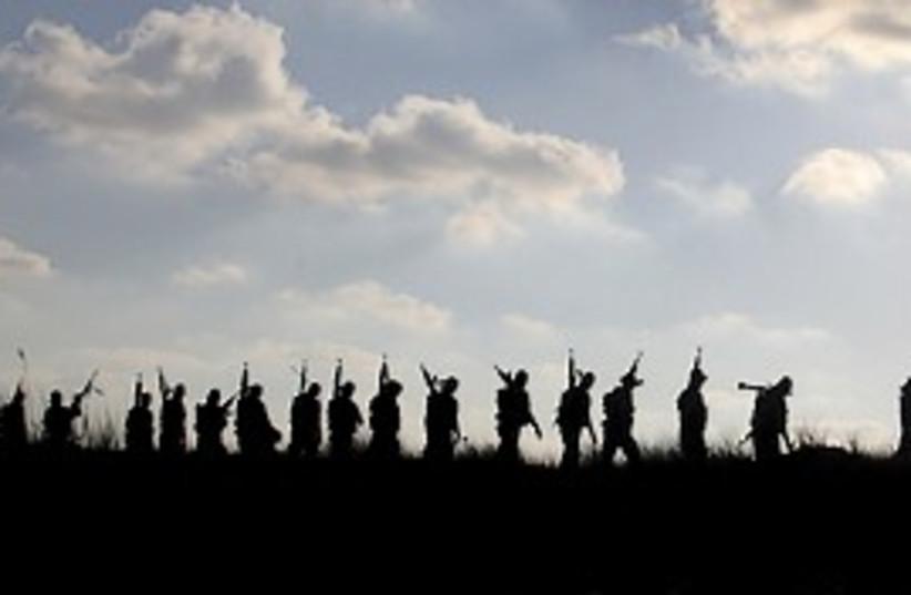 hamas gaza gunmen 298 (photo credit: AP)