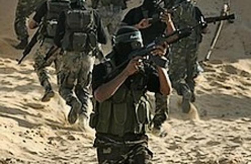 hamas gaza training 248.88 (photo credit: AP)