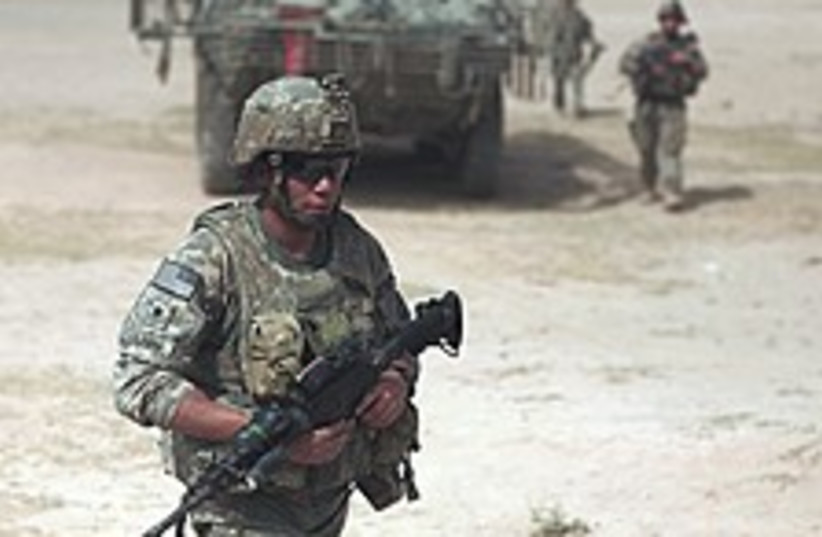 US soldier Iraq 224.88 (photo credit: AP)