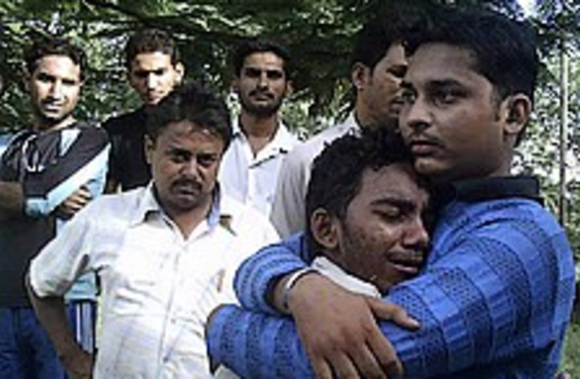 india stampede 224.88 (photo credit: AP)