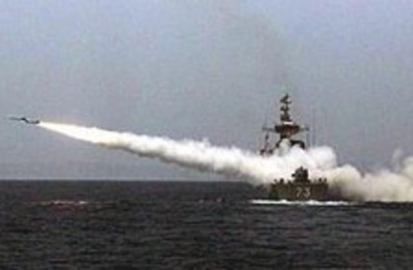 Iran naval misisle 224.8 (photo credit: AP)