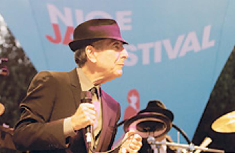 Leonard Cohen 3 88 224 (photo credit: Courtesy of Guillaume Laurent/glaurent.net)